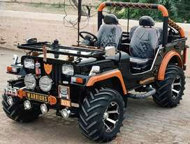 New modified Jeep order in ready