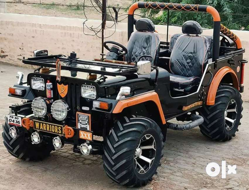 New modified Jeep order in ready 0