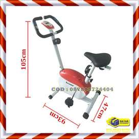 Alat Fitnes Sepeda Statis Magnetik TL 8219 Total Fitness