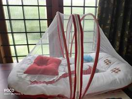 Baby Bed / Mattress with Mosquito Net - Brand New, Unused