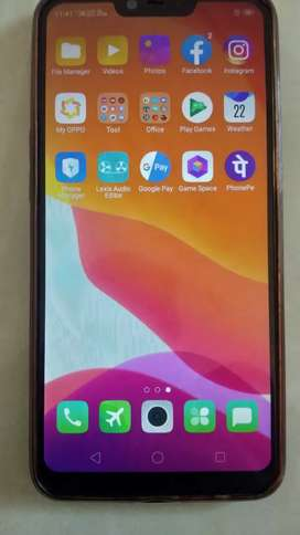 Oppo A5 old 4/32 scrachless condition sell or exchange