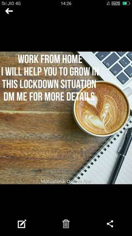 work from home [ part time or full time ]
