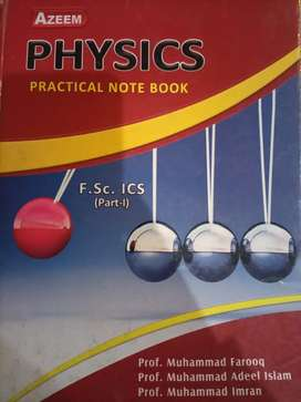 Physics practical note book