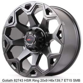 velg mobil Pajero fortuner everest dmax H3 RING 20 offroad import