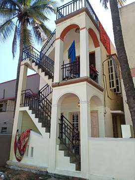 1BHK for rent near Mubeen Masjid first floor