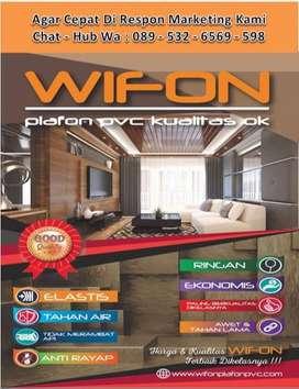 Harga Distributor Plafon PVC Wifon + Terima Pemasangan Plafon PVC