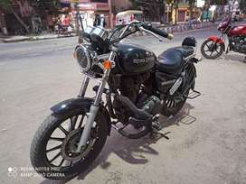Royal Enfield Thunderbird 350 with aloy rim tubeless tyer fitteted