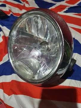 Headlamp reflektor lampu depan vixion chrome ori original YGP
