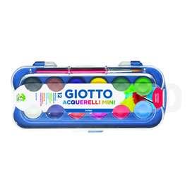Giotto mini watercolour blocks/cat air mini giotto 23 mm12 warna