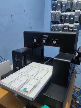 Mesin Printer UV flatbed A3 L1800 Motorized otomatis 6 warna GARANSI