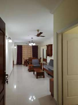 Fully furnished 3BHK flat for rent at Judges Avenue(Skyline Builders)