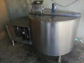 Milk Chillers and Steel Storage Tanks