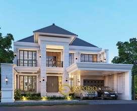 Jasa Arsitek Surabaya Desain Rumah 516 m2