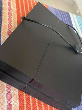 PS4 is in immacualte condition,sparingly used,almost in new condition