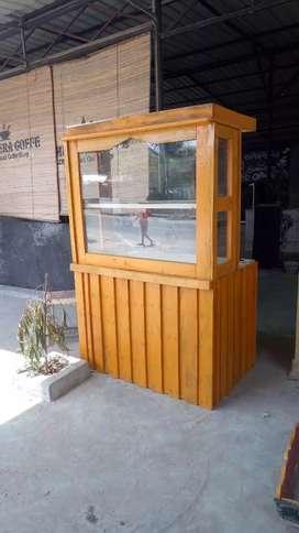 Rak Cafe Booth Jualan Makanan Minuman