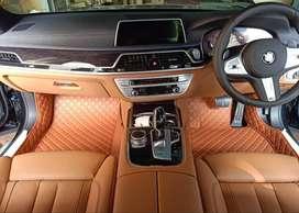 karpet mobil BMW 730i th 2009-2020 full bagasi karpet 5D super mewah