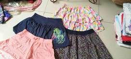 Rok dan Rok celana anak 10-14 th