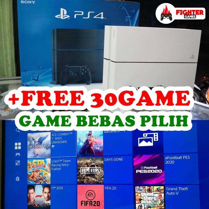 [NEW] SONY PS4 Hardisk +30GAME Bebas Pilih 0