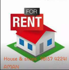 Beautiful house 100 yards portion FOR RENT