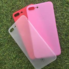 Softcase Frosted Matte Iphone 7+