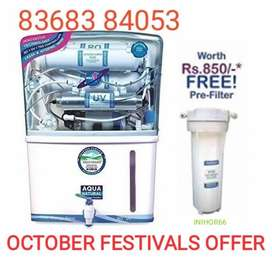 Celebrate October Festivals with RO UV UF TDS Aqua Water Purifiers.