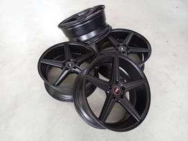 Velg Bekas HSR Emission Ring 20 x 8,5 ET 40 Holle 5 x 114,3 Black