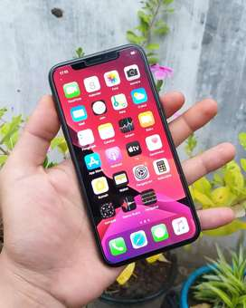 IPHONE X 256Gb KOMPLIT NO MINUS LECET PAKAI