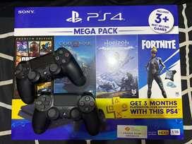 PS4 Slim 1TB CUH 2218 Mega pack