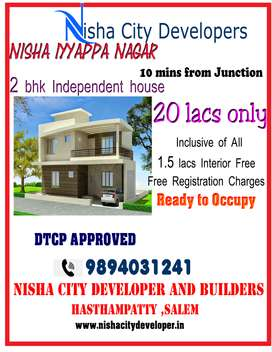 Independent houses for sale ( 10 mins from Junction)
