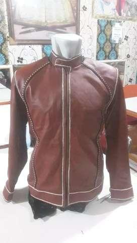 Jaket kulit asli Garut..