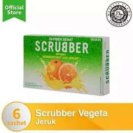 Vegeta scrubber jeruk minuman tinggi serat orange juice drink fibe jus