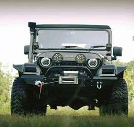 Jeep with angry bird grill