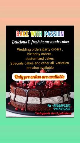 Cakes and cakes varieties