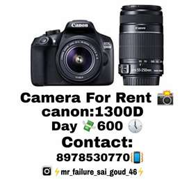 camera For Rent 1300D Canon