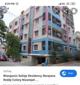Two BHK apartment for rent