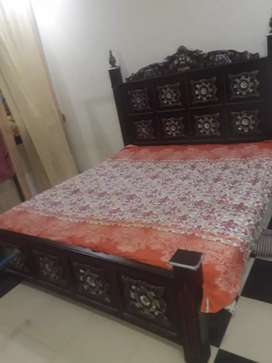 Excellent solid wood bed for sale