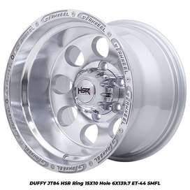 Velg mobil offrod ring 15x10 buat ford evrest pajero hilux dc dll