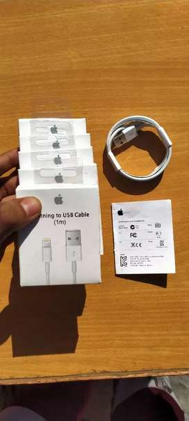 Orignal Apple iPhone data cable for iPhone 5 - 6 - 7 - 8- X Lightning