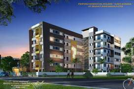 2 bhk flat @ 40 lakh in bailey road ,patna