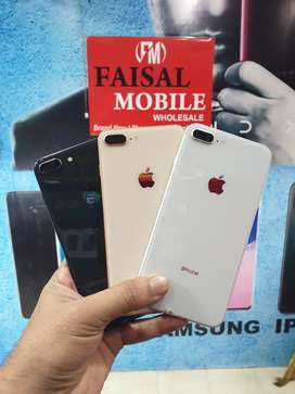 Iphone 8plus 64GB pta approved water proof 10 by 10 condtion brand new