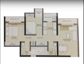 2bhk apartment with modern amenities in mira road