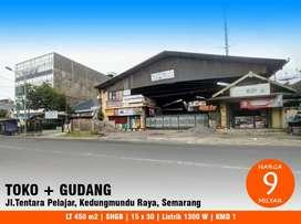 Rumah tempat usaha dan gudang kedungmundu raya sambiroto kota Semarang