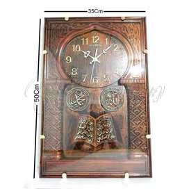 Jam Dinding Kaligrafi Diamon