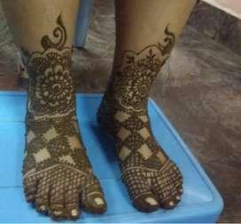 Bridal Mehandhi Designs
