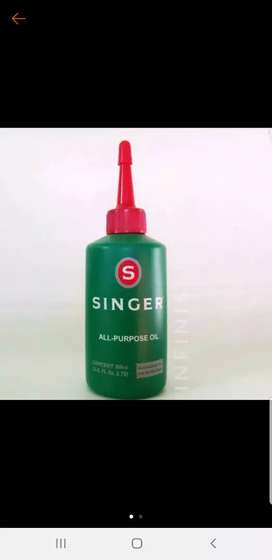Minyak singer mesin jahit
