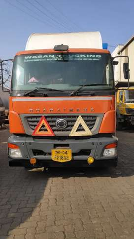 BharatBenz 2523 closed body at Panvel