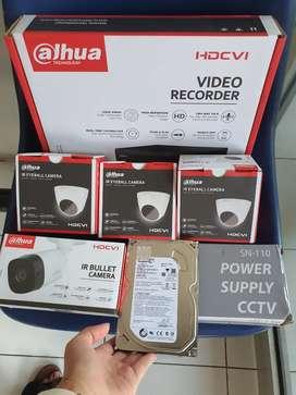 Paket 4 kamera CCTV dan pasang termurah