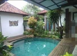 Disewakan villa 2kamar ada pool bulanan n tahunan di sanur