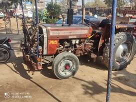 Tractor and trolly