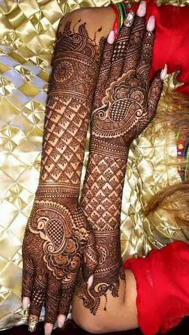 Mehendi for brides and other occasions at low price